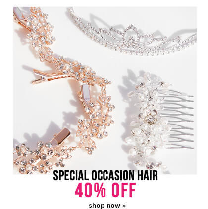 40% off special occasion hair