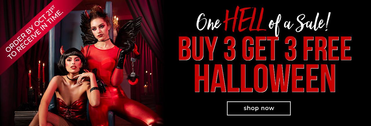 Buy 3 Get 3 Free Halloween