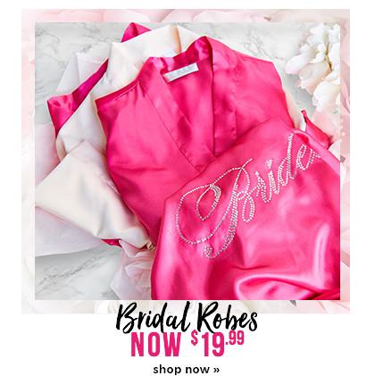$19.99 bridal robes