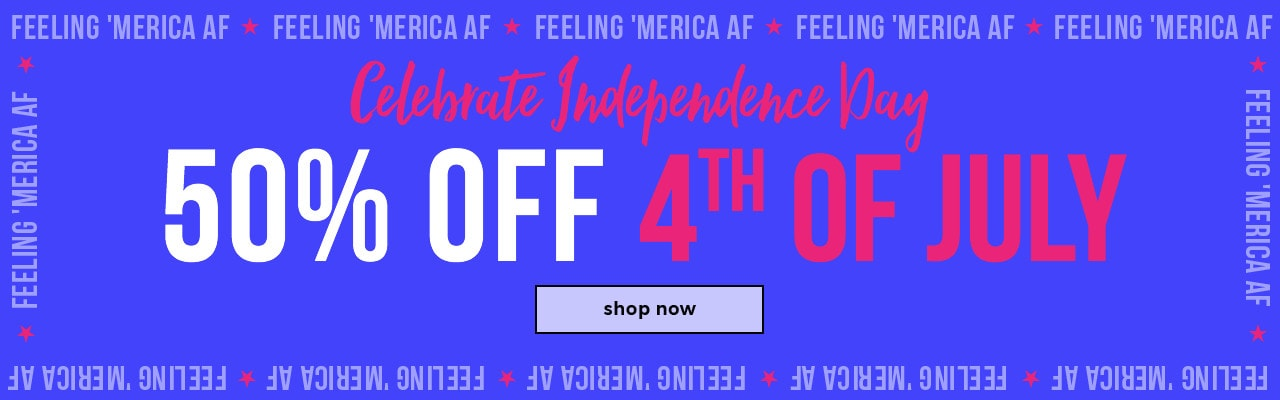 50% Off 4th of July