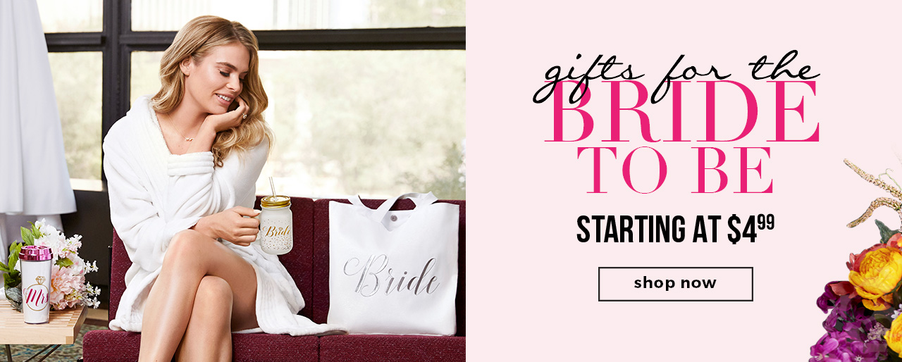 GIFTS FOR THE BRIDE-TO-BE