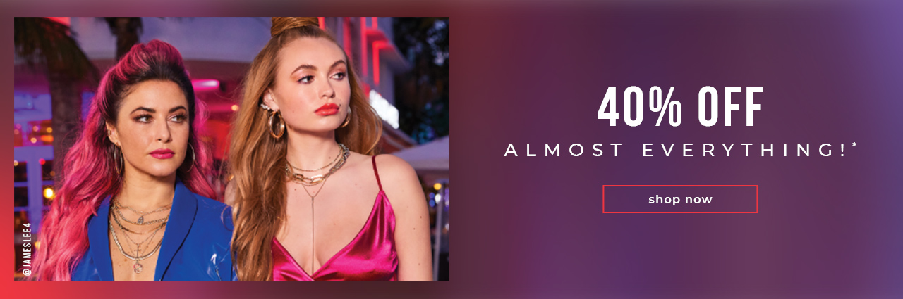 40% OFF Almost Everything!*  @jameslee4
