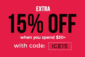 Extra 15% Off on Orders 30+