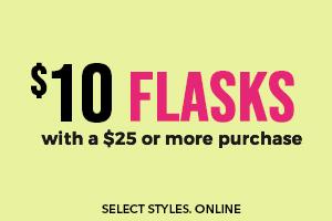$10 flasks