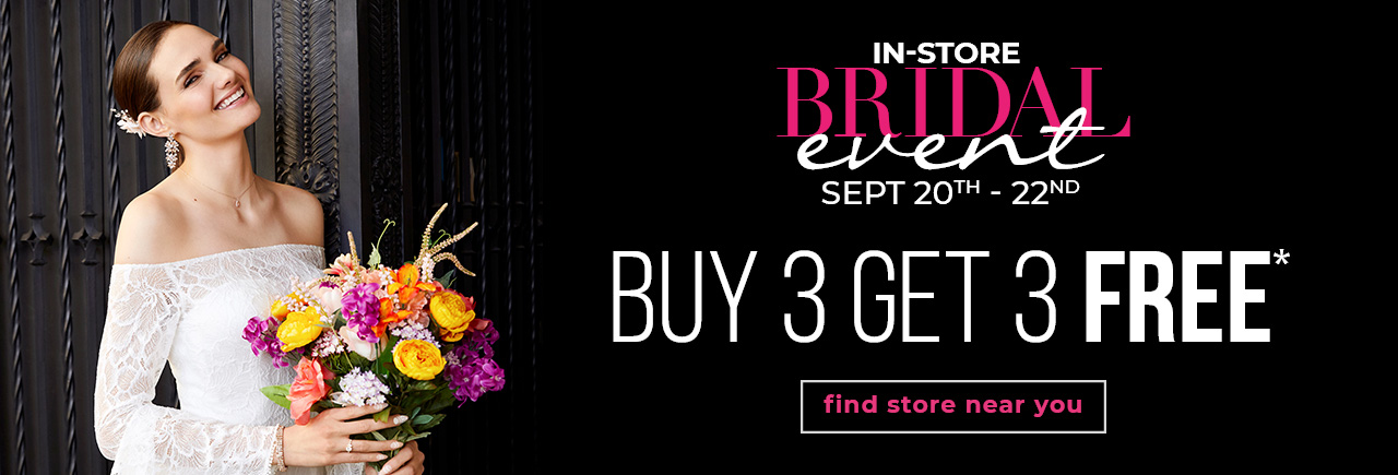 BRIDAL EVENT - Buy One Get One 50% Off Bridal Jewelry & Accessories