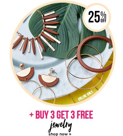 Buy 3 Get 3 Free - Jewelry
