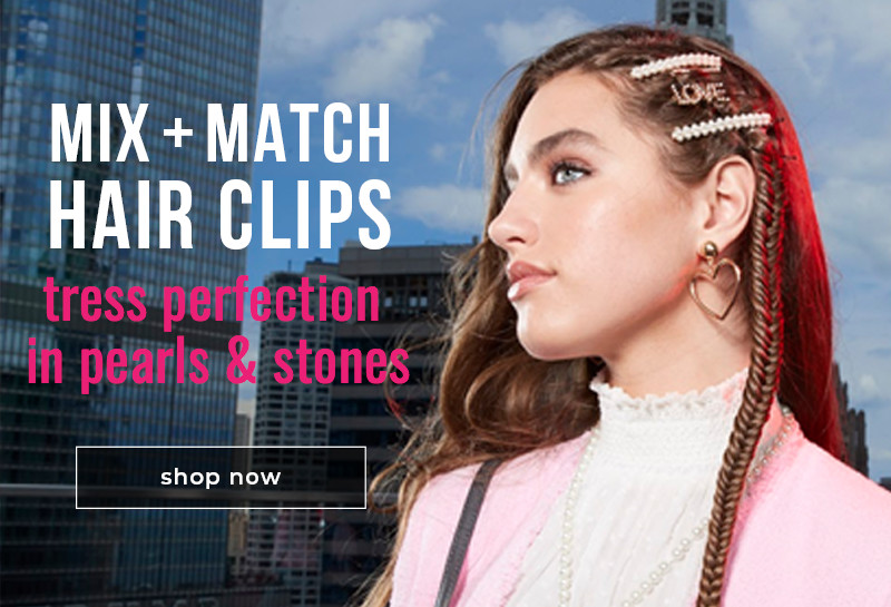 Mix and Match Hair Clips