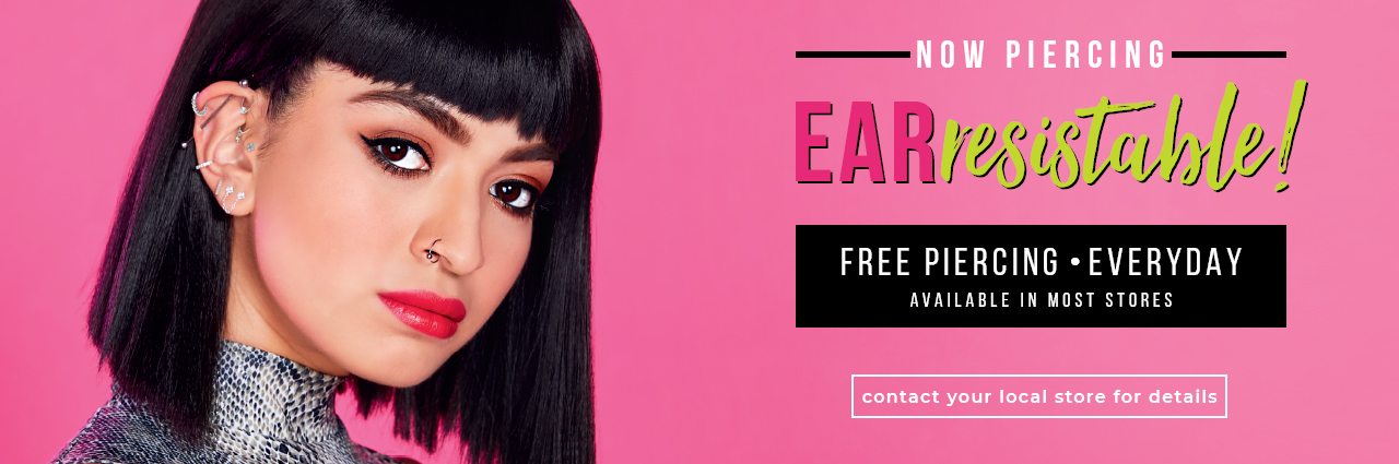 Now Piercing EARresitable Free Piercing Everyday
