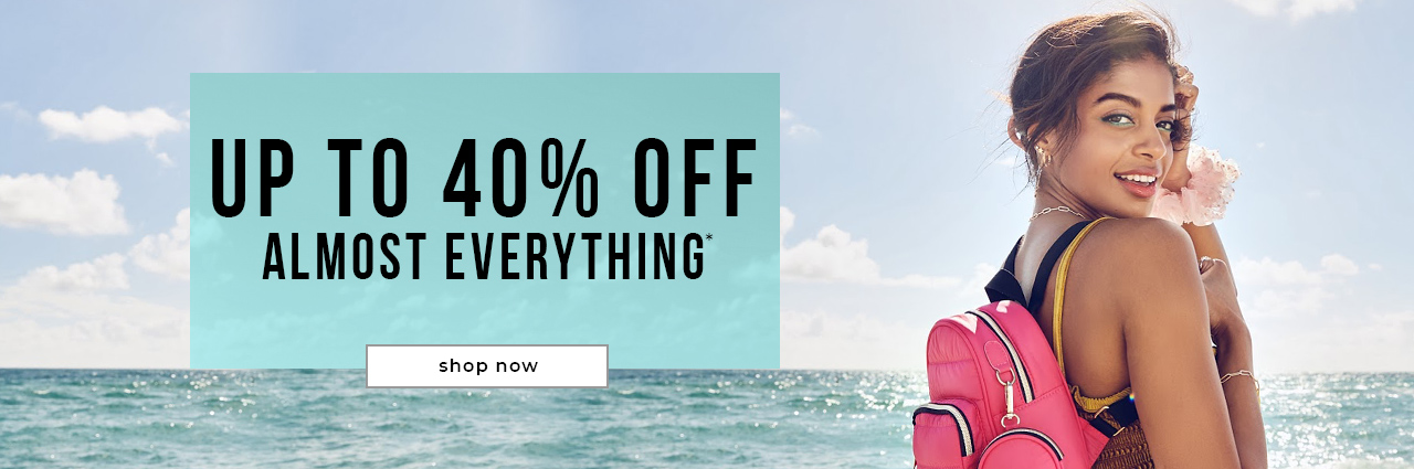Up To 40% OFF Almost Everything*