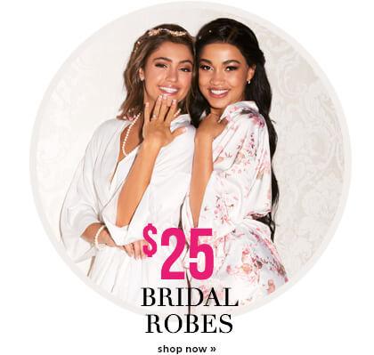 Bridal Robes $25