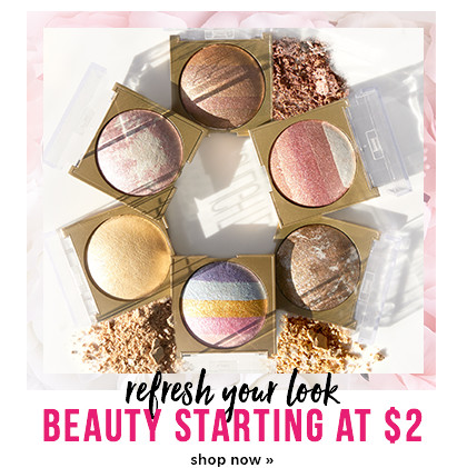 Beauty - starting at $2 - Shop Now