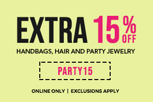 extra 15% off with code PARTY15