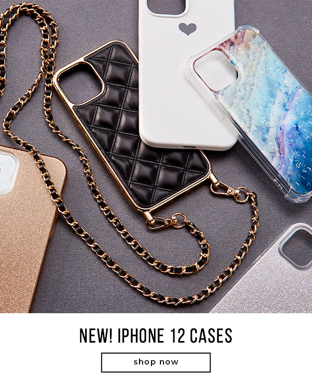 NEW! IPHONE 12 CASES