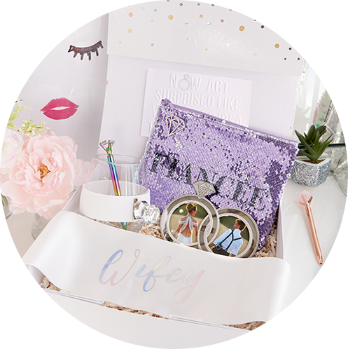 wifey engagement gift set
