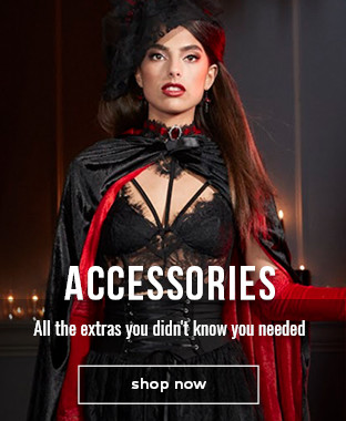 Shop costume accessories to create the right look